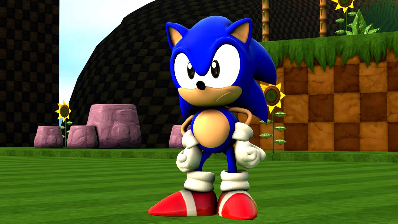 Sfm Classic Sonic Waiting Youtube