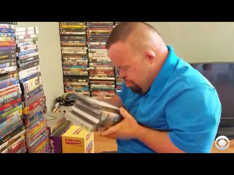 Strangers surprise California man with hundreds of DVDs