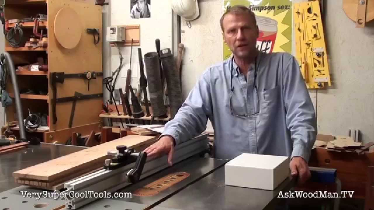 847 Jessem Table Saw Stock Guides And Aluminum Extrusion