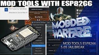 How to use Mod Tools with ESP8266 & ESP32 (5.05 Jailbreak)