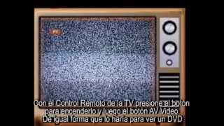 Video Instalacion Television Digital Abierta y Gratuita TDA