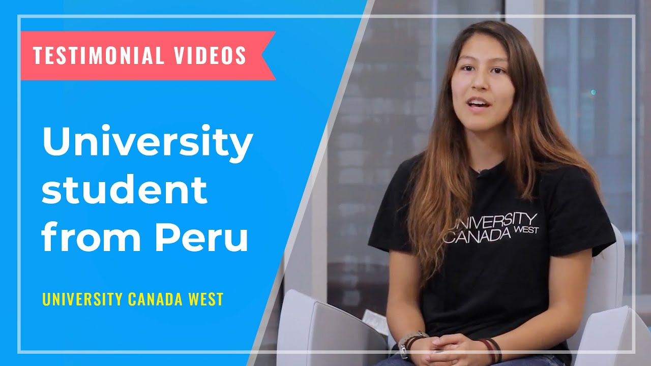 TESTIMONIALS: University student from Peru