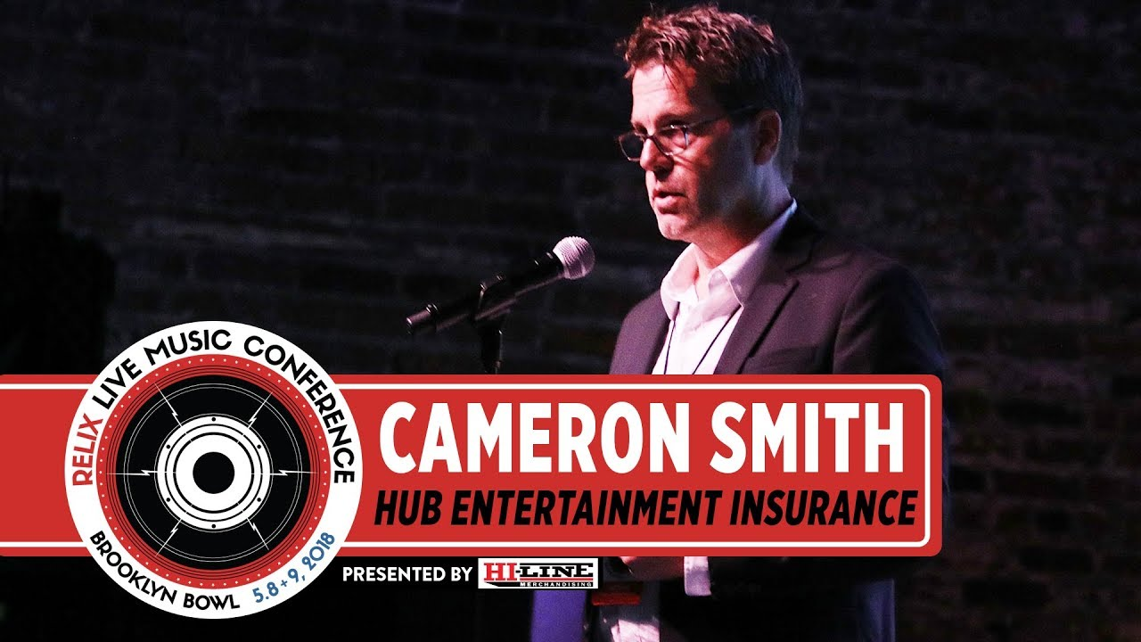 CAMERON SMITH | HUB ENTERTAINMENT INSURANCE | RELIX LIVE MUSIC CONFERENCE | NEW YORK, NY