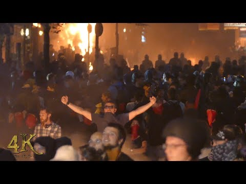 Germany G20: Extended 2 hour raw footage of infamous Hamburg riots - July 2017
