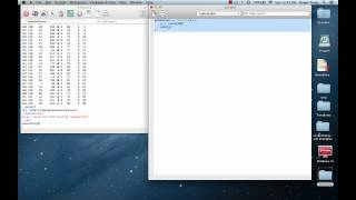 Setting Your Working Directory and Editing R Code (Mac)