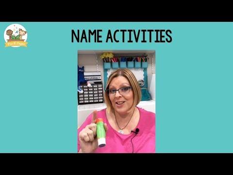 Fun Name Activities for Preschool