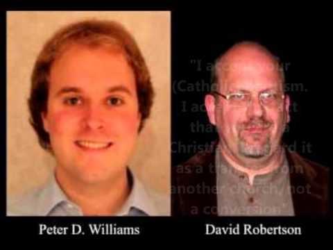 "David Robertson Calls Pope ""Christian Brother"" & Roman Catholic Church ""Christian Church"""
