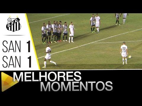 Santos (AP) 1 x 1 Santos | MELHORES MOMENTOS | Copa do Brasil (21/04/16)