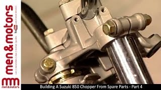 Building A Suzuki 850 Chopper From Spare Parts - Part 4