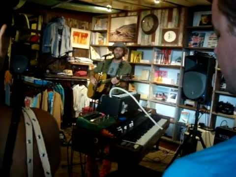Neil Halstead -- Tied to You [1/15] LIVE at Mollusk Surf Shop, Venice Beach CA 5-8-2012