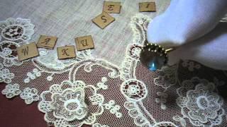 ~サフィレットの指輪~ ラウンドM  魔法の国の宝石(ガラス)