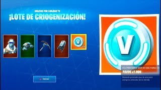 COMPRO **NUEVO** PACK LEGENDARIO DE FORTNITE: Battle Royale