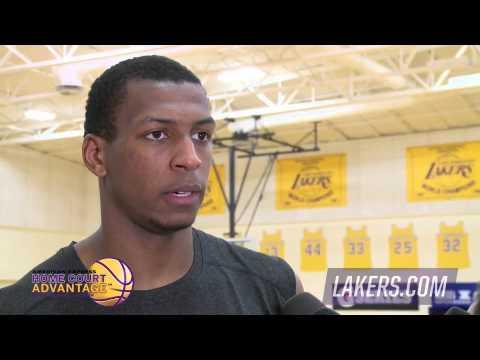 Jonathan Holmes - Los Angeles Lakers Draft Workouts | 2015 NBA Finals