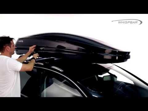 ||MyRack|| WHISPBAR WB753 500L 亮黑色 車頂行李箱 置物箱 車頂箱 車用露營箱