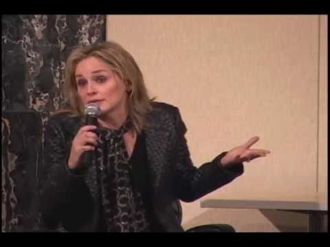 Sharon Stone Speaks at University of San Francisco