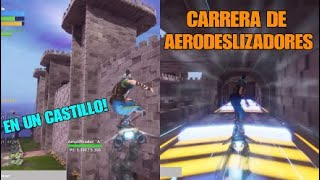 RACE OF AEROSELS IN A CASTLE ! FORTNITE ? SAVING THE WORLD