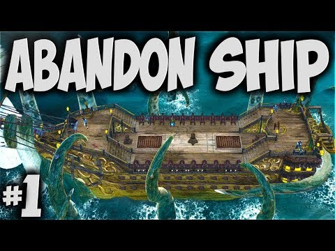 ABANDON SHIP - Escaping the Cult! Unbelievable! - Let's Play Abandon Ship Story Mode Gameplay Part 1