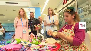 Технологию изготовления безликих татарских кукол раскрыли в пресс-центре ЧМ Казани
