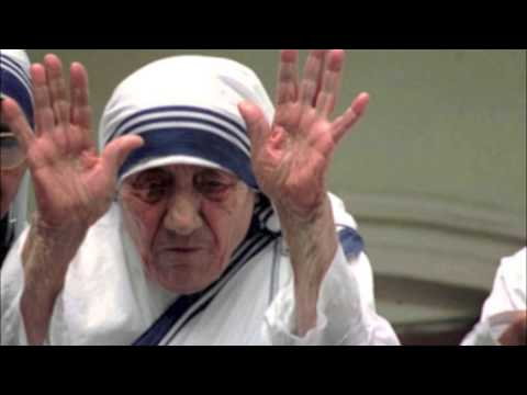 This is Mother Teresa...