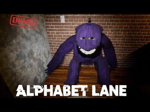 Alphabet Lane Pixel Demo Playthrough Gameplay (indie horror Game)