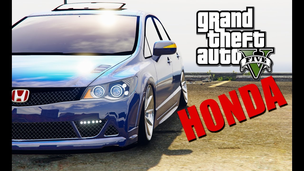 Gta 5 Honda Civic FD6 Mugen Modu NASIL YÜKLENİR!!!