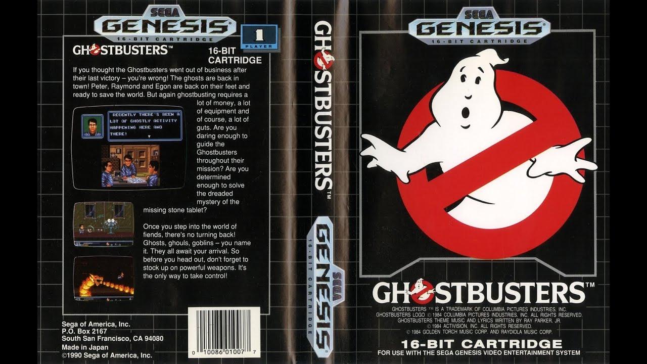 Zerando Ghostbusters Mega Drive Youtube