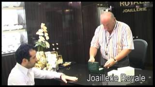 La joallerie Royale - vente d'une montre