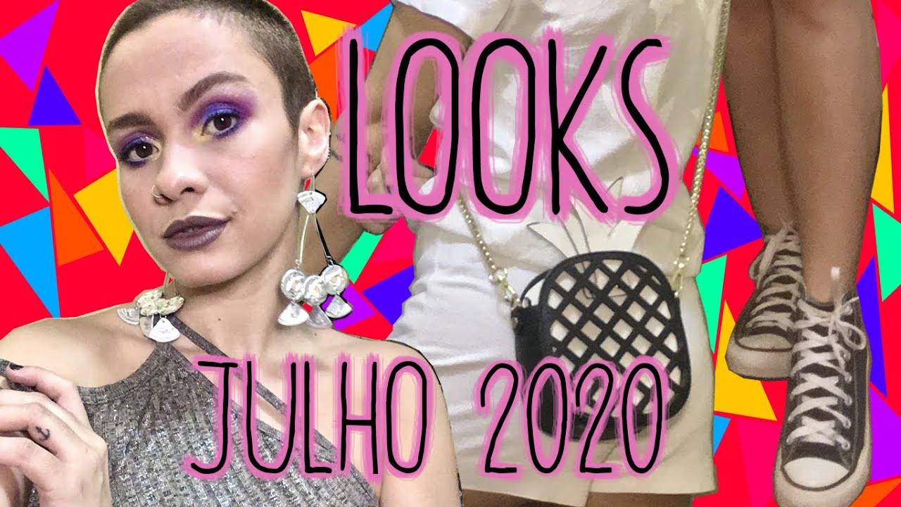 LOOKS | Julho 2020: Montação Completa, SPICE GIRLS, Bolsa e Sapato em Casa?