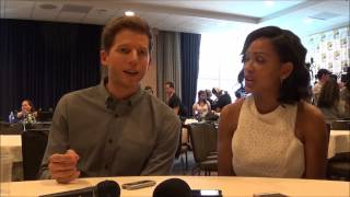 Minority Report Q&A with Stark Sands Dash & Meagan Good (SDCC 2015)