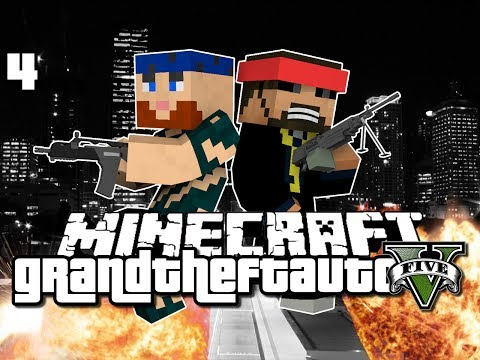 Minecraft Grand Theft Auto Mod 4 - THE START OF GREATNESS (GTA 5)