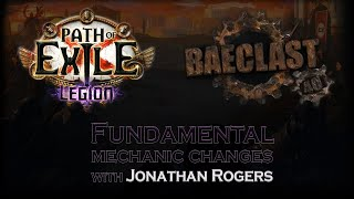 [Path of Exile] Reacting to Baeclast #40: Fundamental mechanic changes in 3.7 with Jonathan Rogers