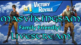 Friendliest No Skin Pro Skin Fortnite Stream! -MVS Stream 43