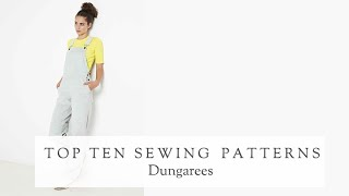 Top 10 Dungaree Sewing Patterns | The Fold Line