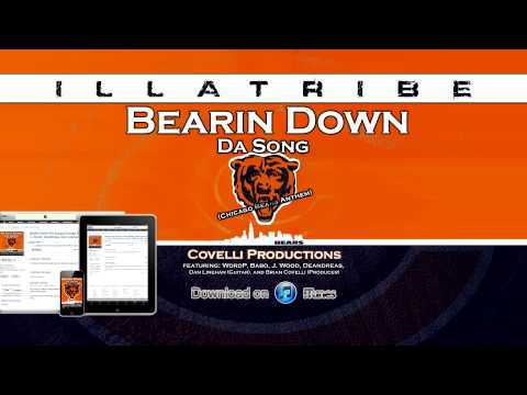 Bearin Down Da Song (Chicago Bears Anthem) 2012-2013 now on iTunes! - by ILLATRIBE