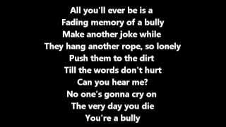 Bully By Shinedown Lyrics