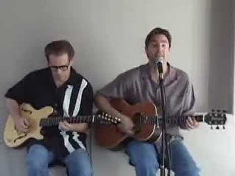 Fools Rush In (Ricky Nelson Cover) - Regan Wood and Bernie Hamburger