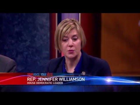 Jennifer Williamson Dodges Min Wage Consequences Question