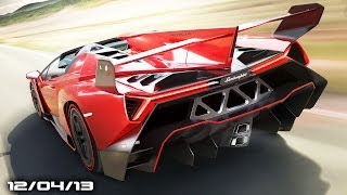 Lambo Veneno Roadster, Alfa Romeo Models, F1 Ferrari Reindeer, Audi Q1, & Friendsday Wednesday!