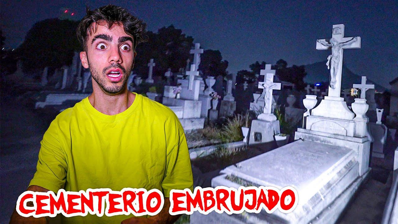 Download VISITE UN CEMENTERIO EMBRUJADO DE NOCHE ☠️ (mala idea)