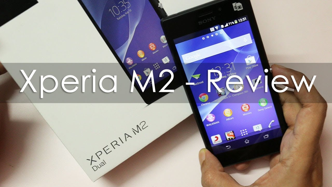 sony xperia m2 mid range android phone review viyoutube