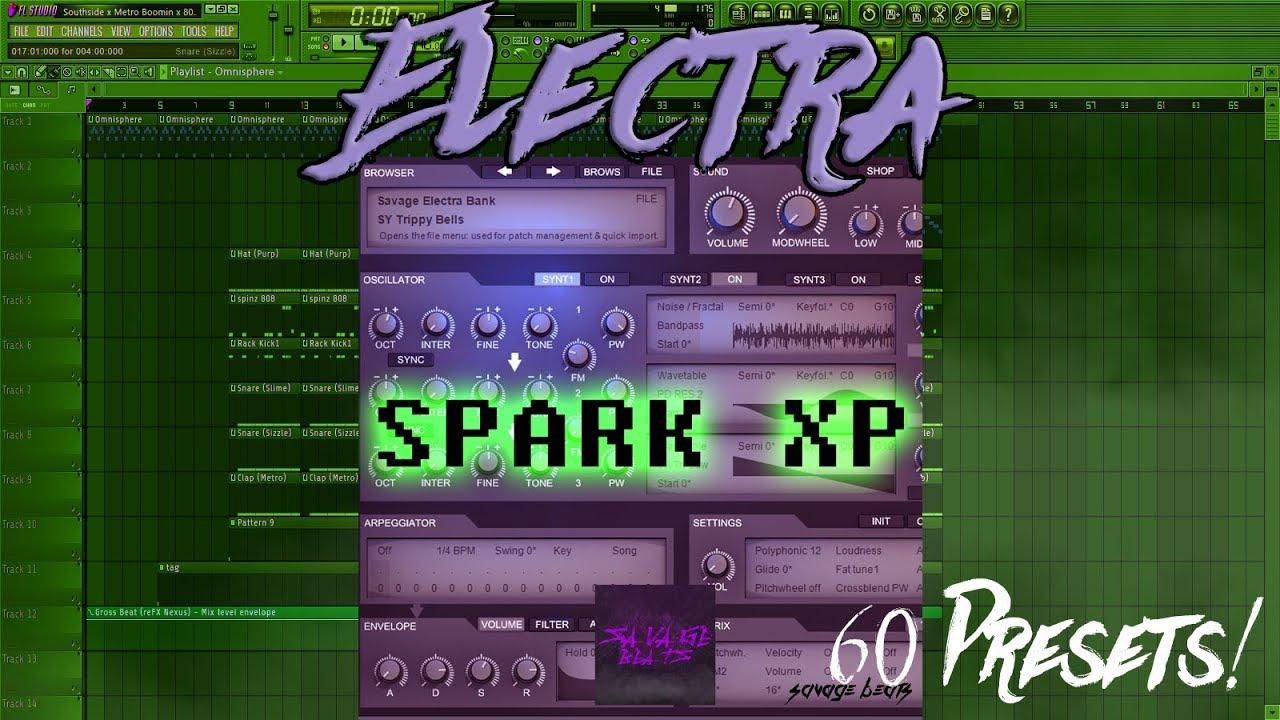 SPARK XP - ELECTRA X (Savage Beats) - How To Make Beats Blog