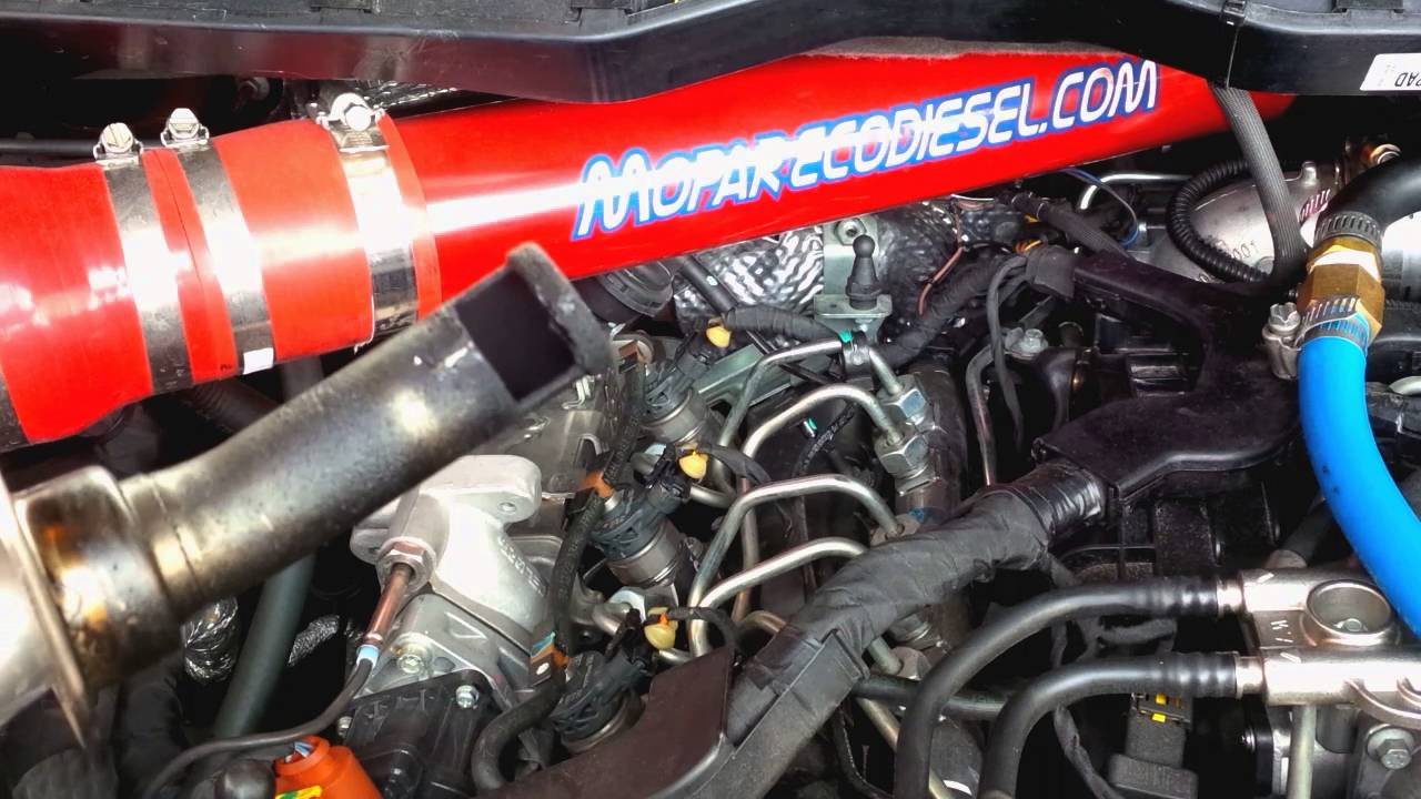 Ram 1500 Ecodiesel 3 0L 13000 mile egr mod tube inspection