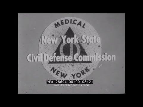 CIVIL DEFENSE  AFTER THE ATOMIC BOMB --  IMPROVISED EMERGENCY HOSPITAL 28694