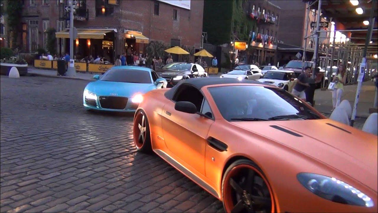 Crazy Spots In New York City Bugatti Ferrari