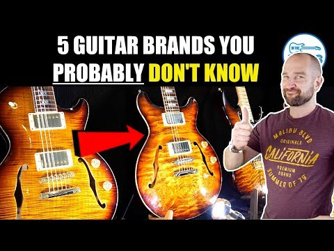 5 Killer Guitar Brands You DON'T know!