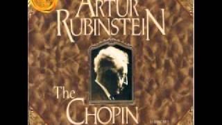 Arthur Rubinstein - Chopin Mazurka in A minor Op. posth. -