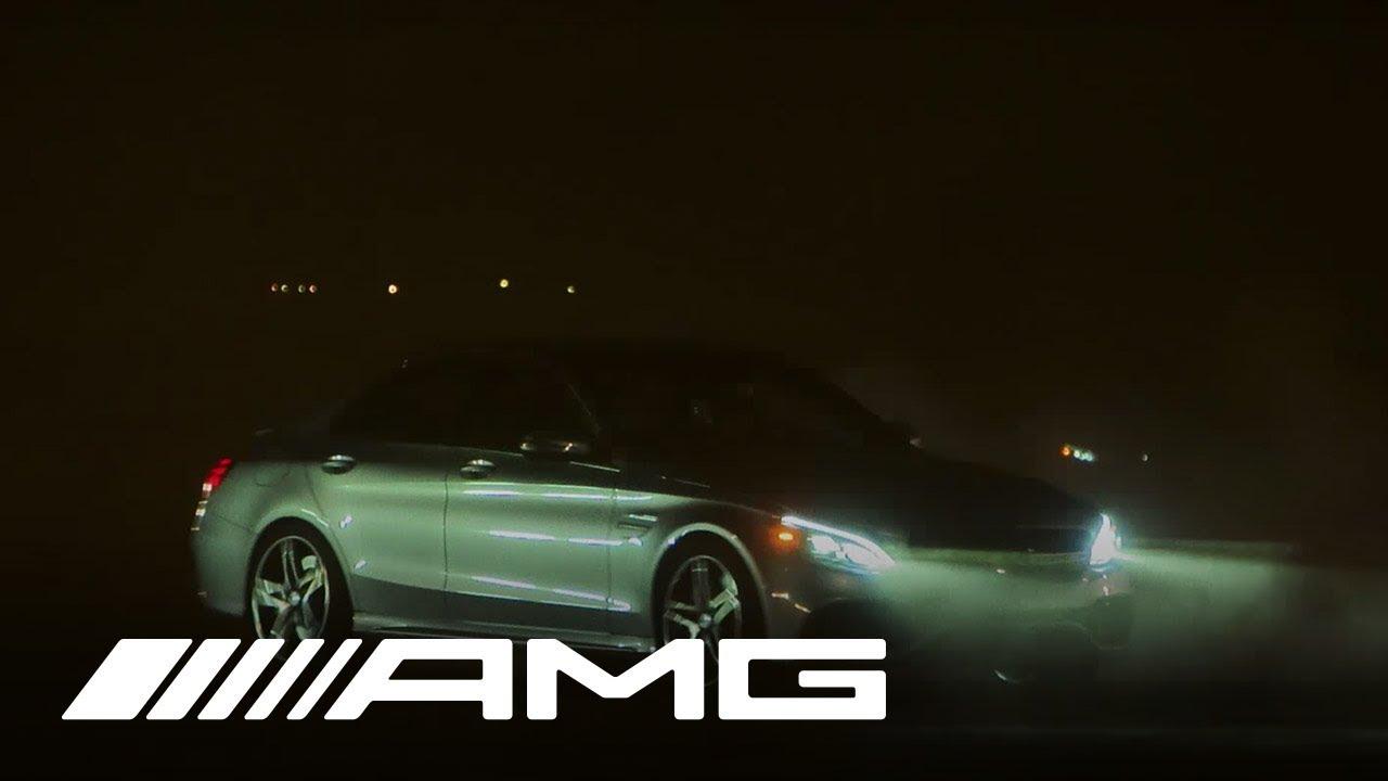 AMG Private Lounge Days 2014 - Teaser #1 - Mercedes-AMG C 63 Drift Challenge