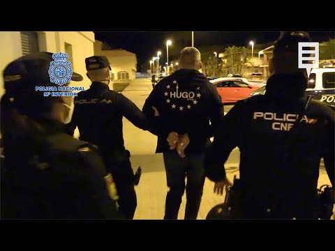 Detenido en Los Alcázares el jefe de un grupo que llevaba 15 años traficando con drogas