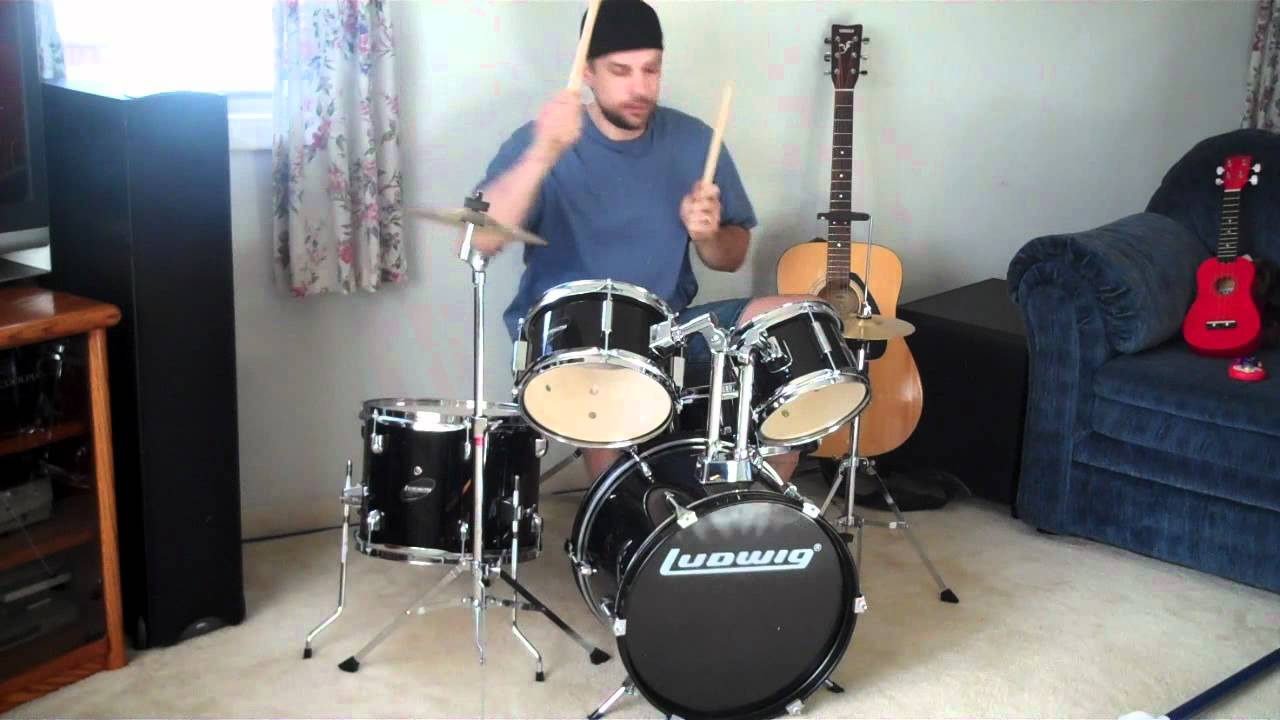 LUDWIG JUNIOR DRUMSET   YouTube
