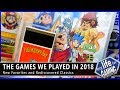 The Games We Played in 2018 - New Favorites and Rediscovered Classics / MY LIFE IN GAMING